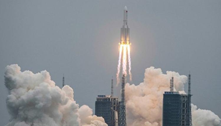 长征5B火箭已坠落印度洋