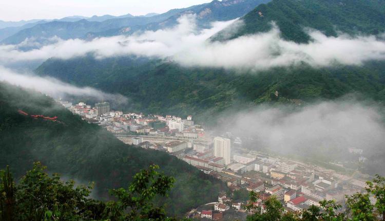 佛坪县仅有3万多的人口