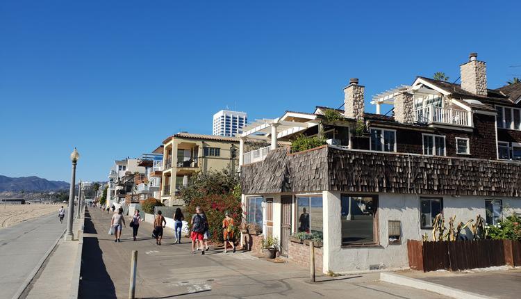 美国 洛杉矶 Santa Monica 海滩
