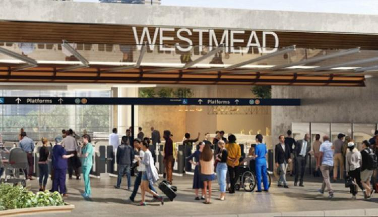 Westmead 火车站