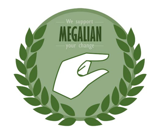 韩国极端女权主义组织MEGALIAN的标志