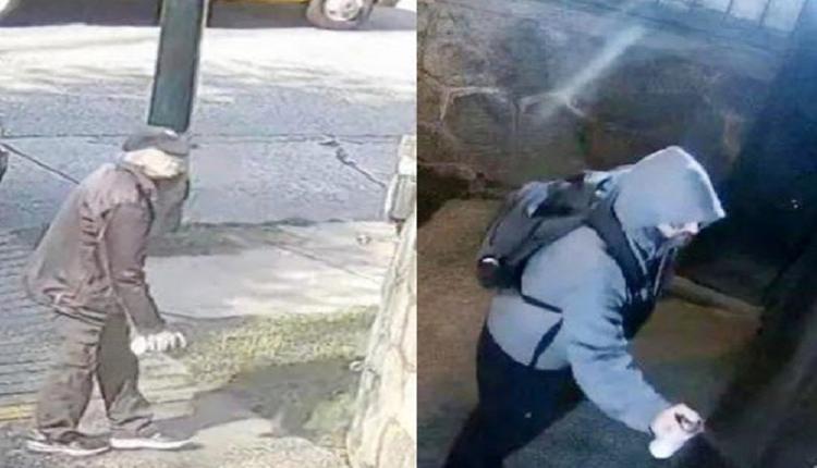 2名男子到中国驻加拿大使馆前搞破坏 警方追缉中