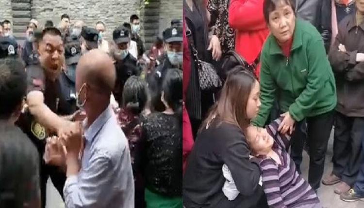 重庆一小区爆发大规模抗暴事件 成功驱逐黑衣人