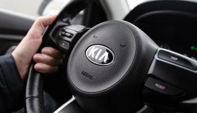 起亚,Kia,方向盘,汽车,开车