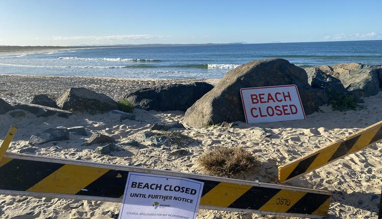 海滩关闭,海滩,鲨鱼袭击