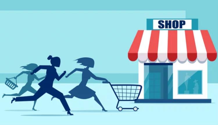 购物,抢购,打折促销