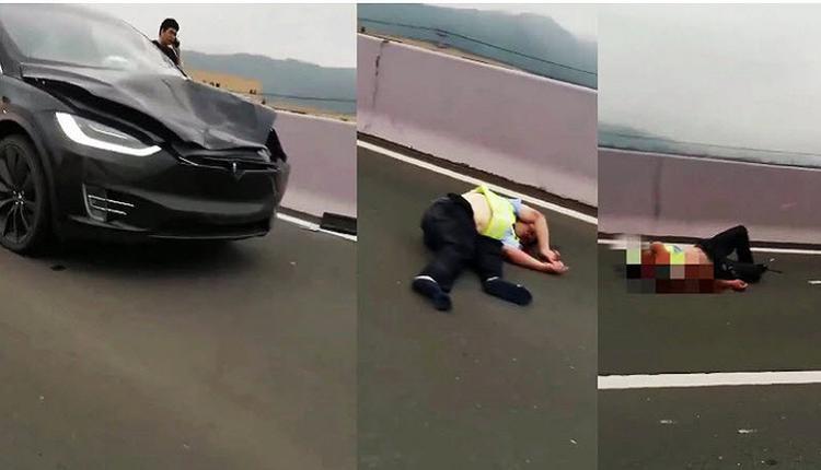 特期拉再出事故 碰撞两名交警 一死一伤