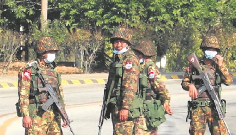 缅甸军政府武力镇压