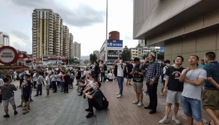 深圳赛格大厦连续第三日晃动 美领馆示警