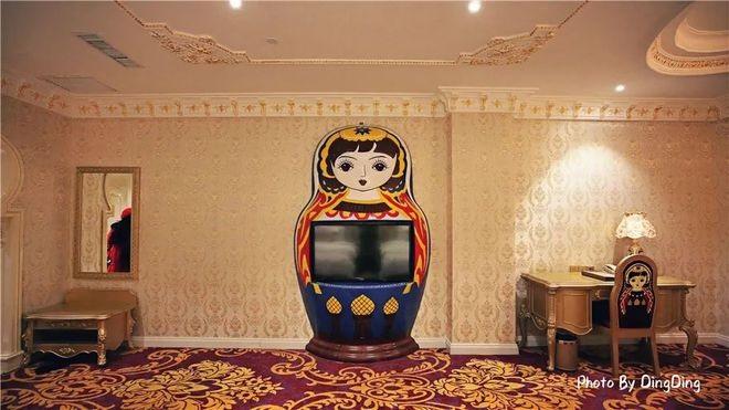 电视上一个大套娃