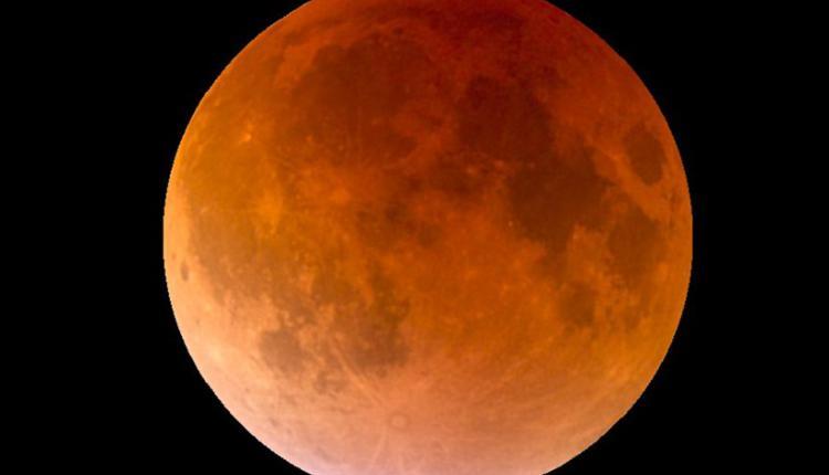 超级血月,Total lunar eclipse