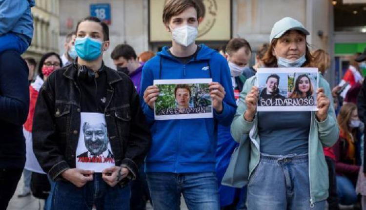 白俄示威,普罗塔塞维奇,Roman Protasevich