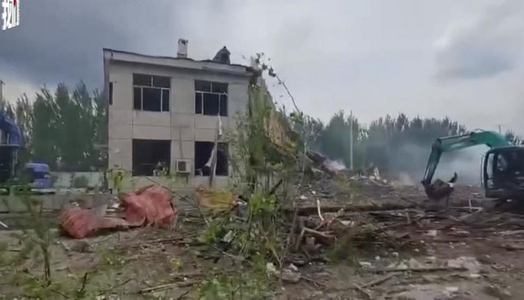 涉嫌非法制造储存爆炸品 办公大楼爆炸酿8死4伤
