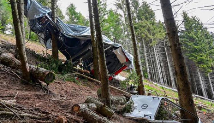 意大利,缆车事故,缆车坠毁