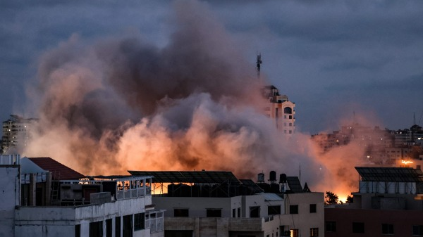 以色列空袭加沙地带哈马斯的军事目标
