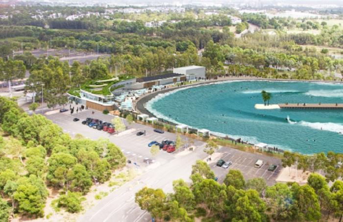 悉尼URBNSURF冲浪公园