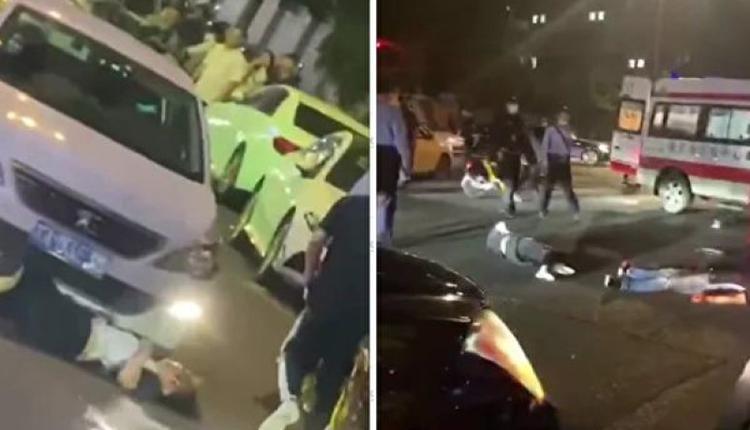 5月29日晚,位于南京中心区域的新街口爆出又一起报复社会事件