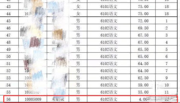 长沙高新区教育局招聘笔试成绩单