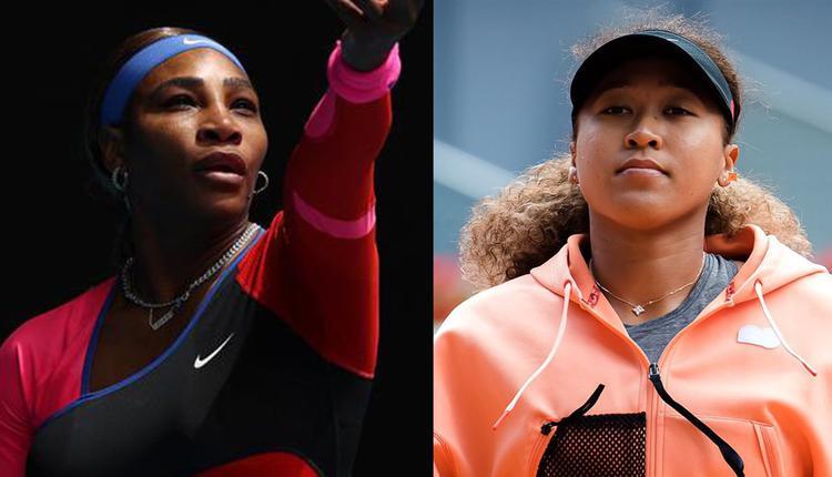 美国名将小威廉(左)31日发声表示同情日本网球好手大坂直美(右)