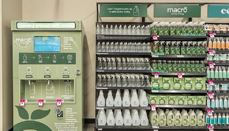 清洁产品补充站