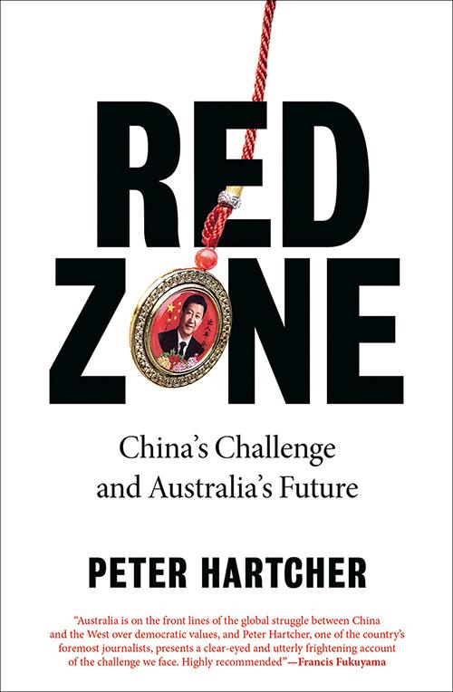 澳中关系的新书《红色区域》(Red Zone)