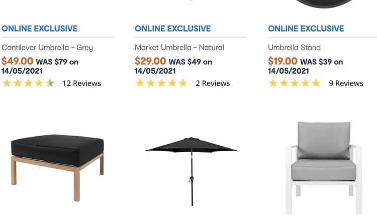 澳洲Kmart超市日前推出在线大促销活动