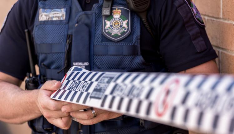 昆州警方,警戒线