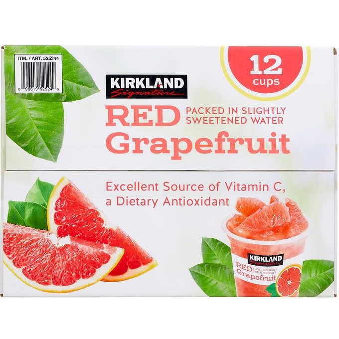 Kirkland Red Grape Fruit