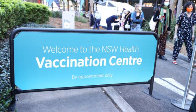 澳洲疫情,疫苗接種中心,新州疫情