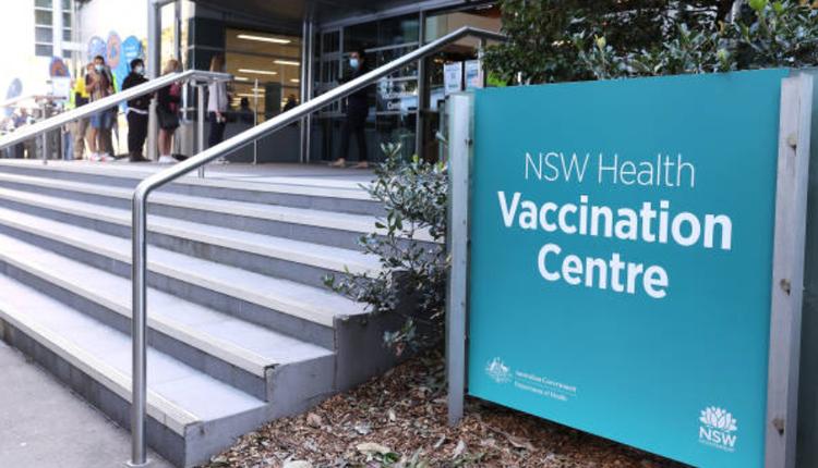 澳洲疫情,疫苗接种中心,新州疫情