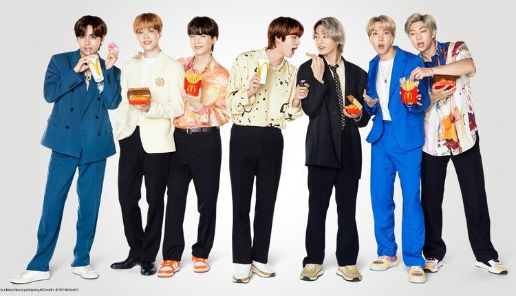 BTS麦当劳联名