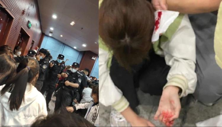 南京师范大学中北学院爆发流血冲突