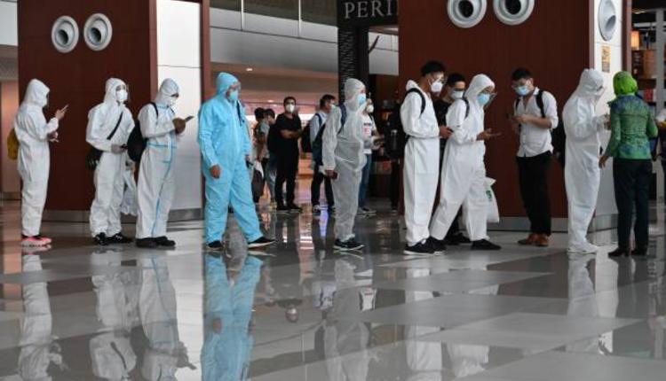 中国疫情,机场,个人防护设备