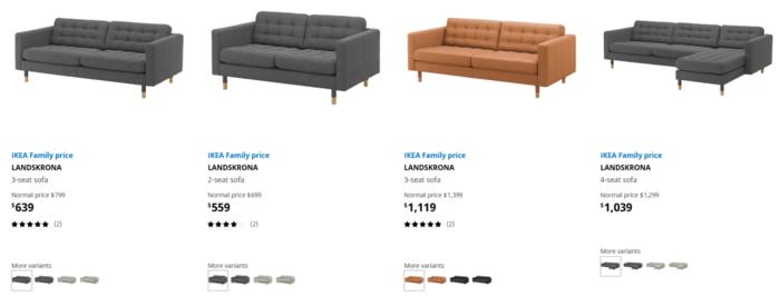 澳洲IKEA限时特卖 沙发超值优惠