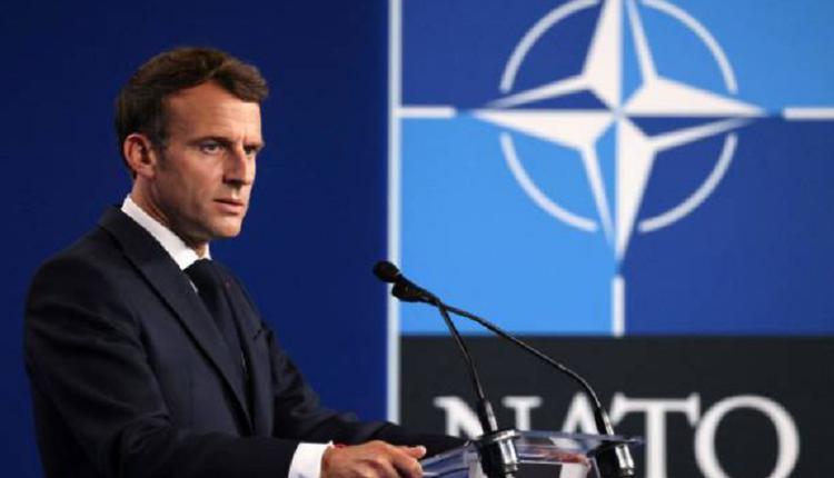 法国总统马克龙,北约峰会