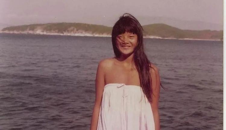 陳凱歌為前妻洪晃拍的照片