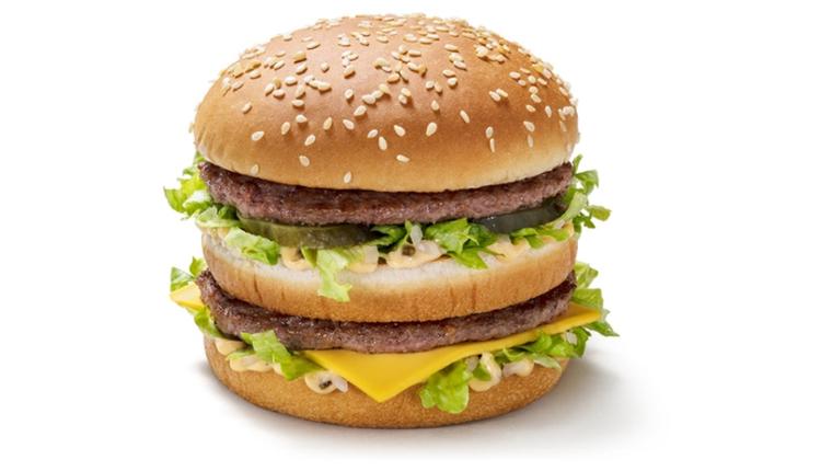 麦当劳巨无霸