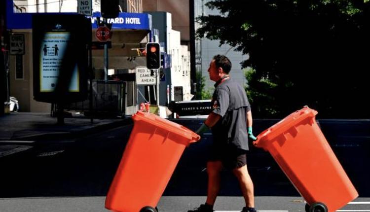 澳洲,红色垃圾桶,垃圾回收