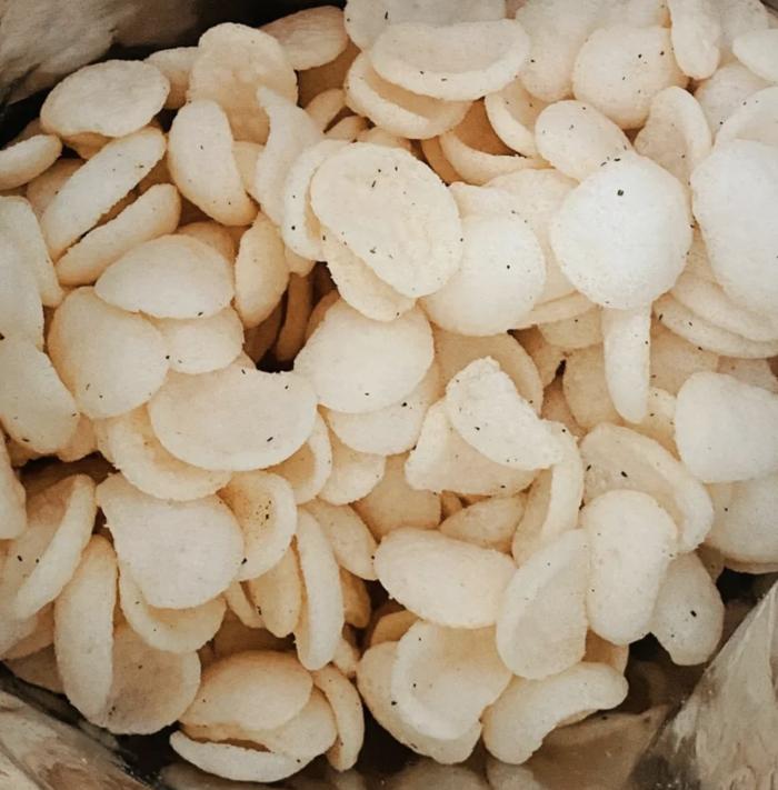 Balance Grow Shrimp Crackers Garlic and Butter Flavour