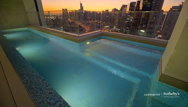 迪拜豪华顶层公寓