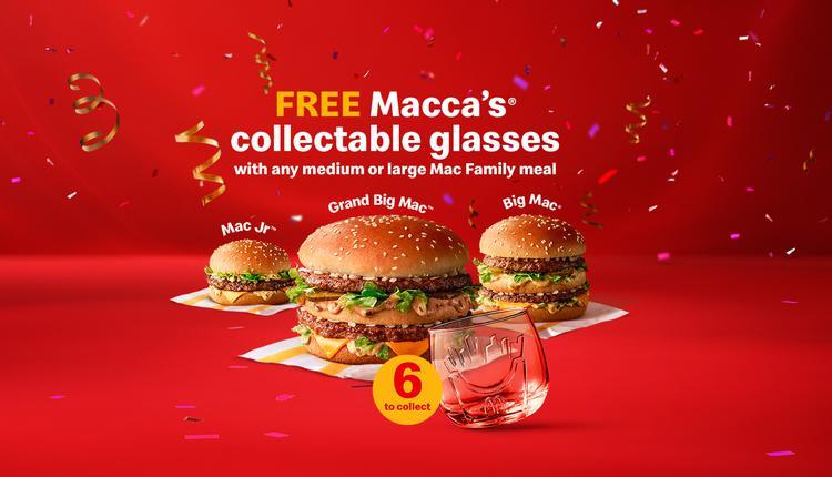 麦当劳,限定杯子,50周年