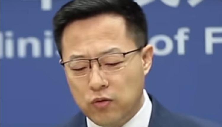 """继华春莹""""反习""""之后 赵立坚""""反共""""言论引爆网络"""