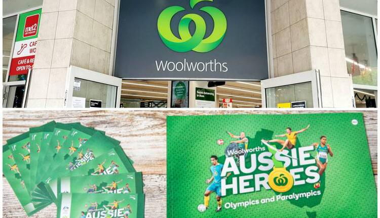 Woolworths超市最新收藏品