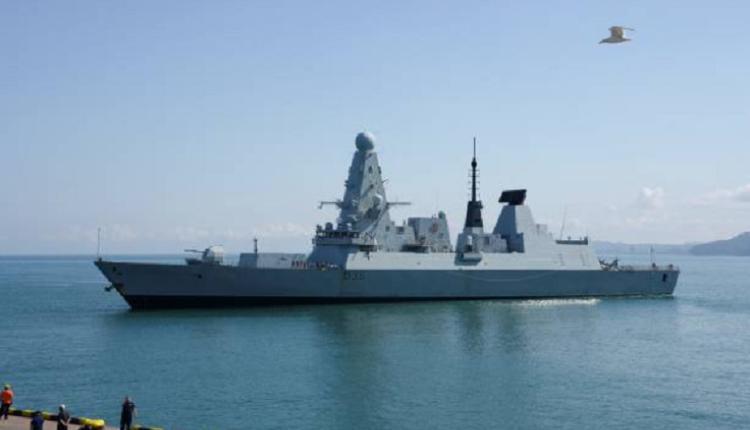 英国皇家海军驱逐舰HMS Defender