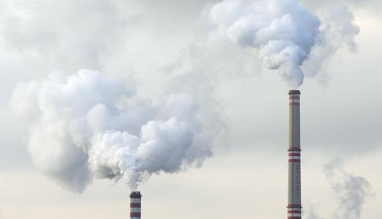 燃煤发电厂示意图