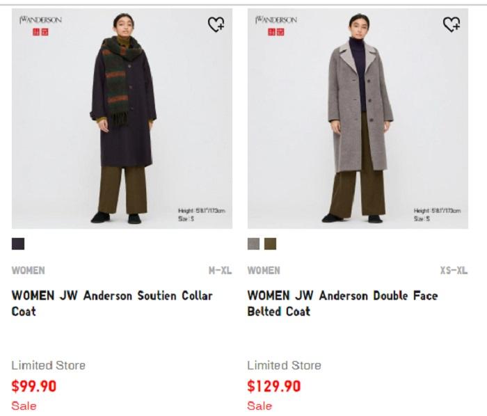 JW Anderson的大衣