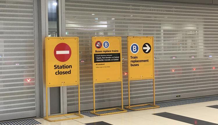 澳洲疫情 火车站