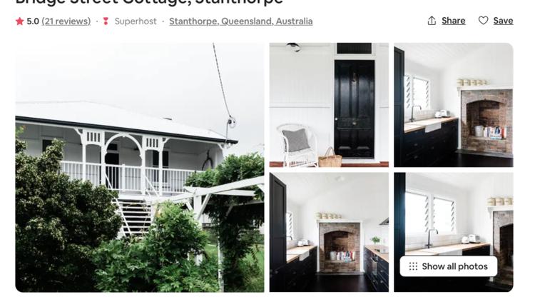 美式乡村风格小屋Bridge Street Cottage