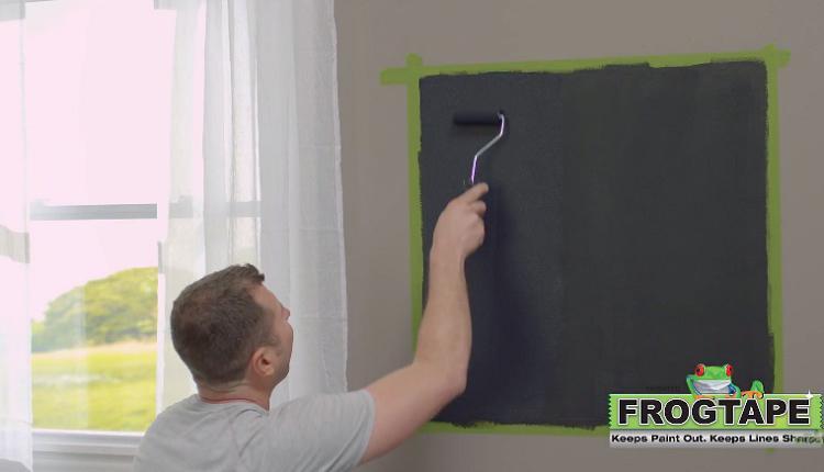 黑板漆粉刷