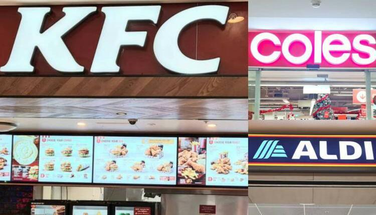KFC、Aldi、Coles